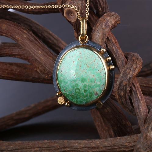 Turquoise Pendant (04537)