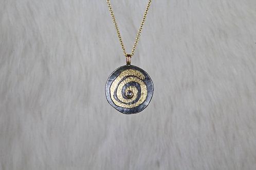 Diamond Spiral Pendant (02896)
