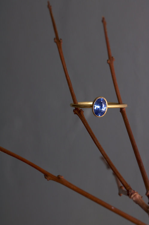 Sapphire Stacking Ring (05954)