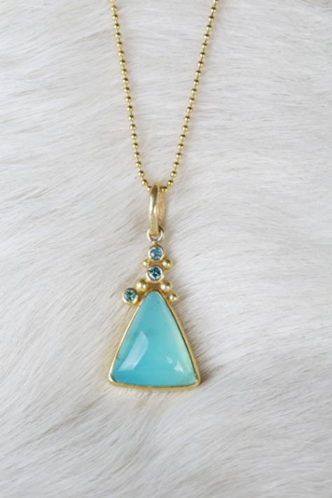 Peruvian Opal Pendant (04620)