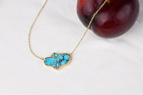 Turquoise Necklace (04060)