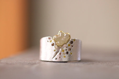 Multi-Colored Diamond Ring (06744)