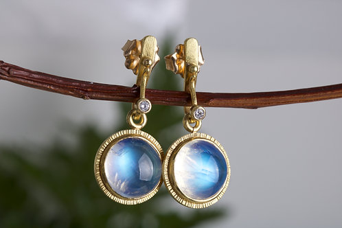 Moonstone Earrings (06579)