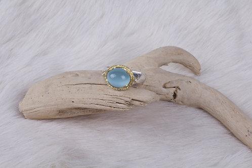 Aquamarine Ring (04762)
