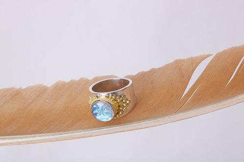 Moonstone Moonface Ring (06815)