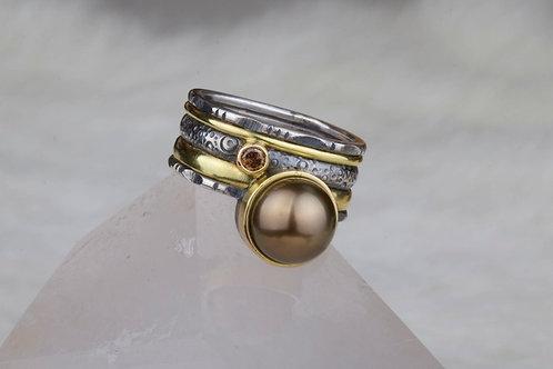 Tahitian Pearl Ring (02759)