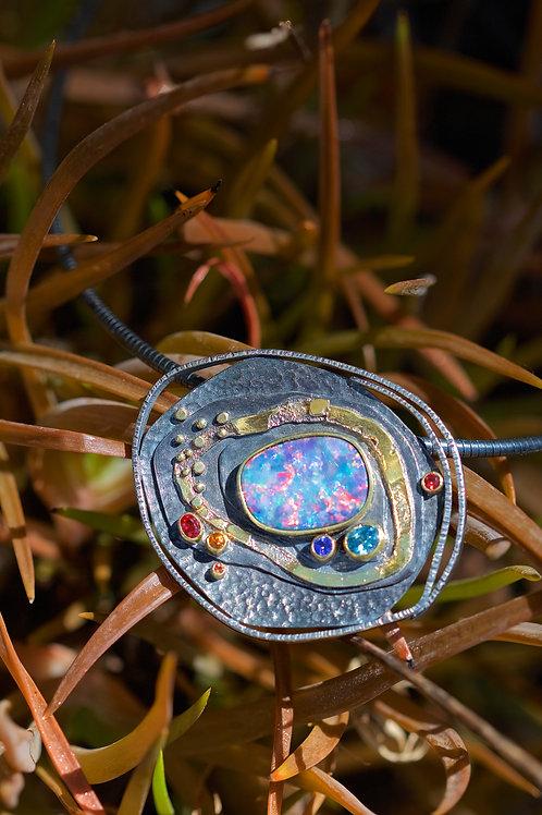 Large Opal Pendant (05358)
