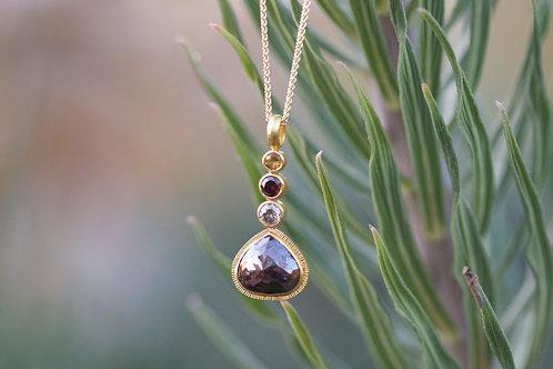 Diamond Drop Pendant (06802)
