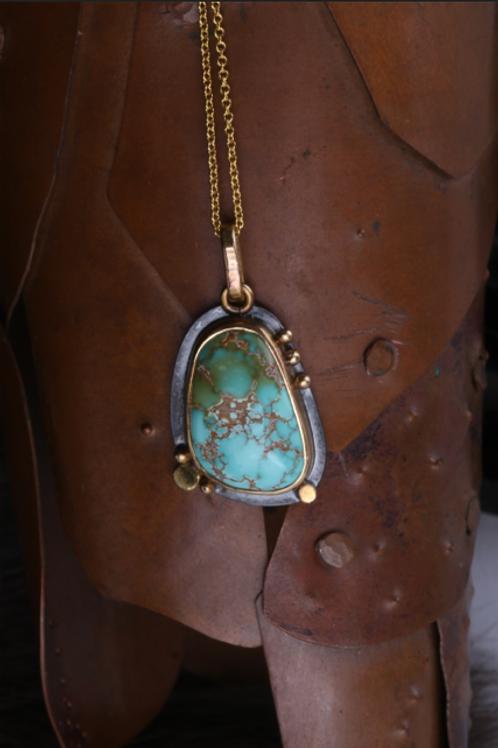Turquoise Pendant (04540)