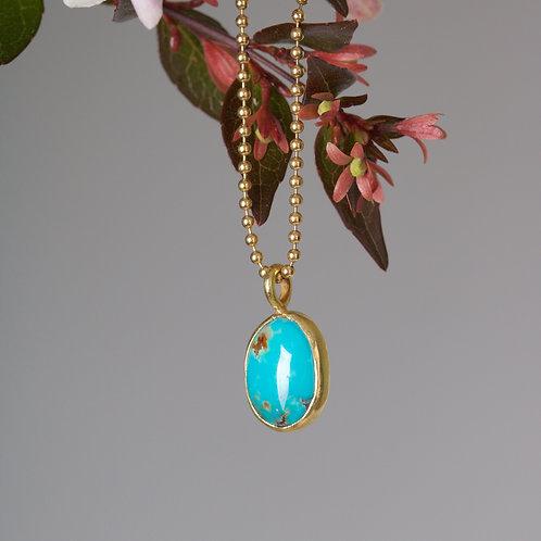 Turquoise Pendant (05924)