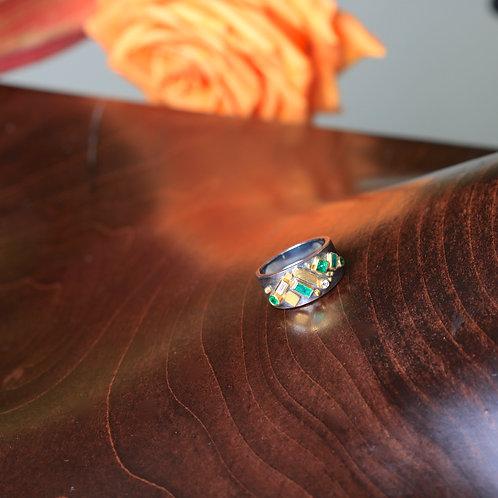 Emerald and Diamond Ring (06812)