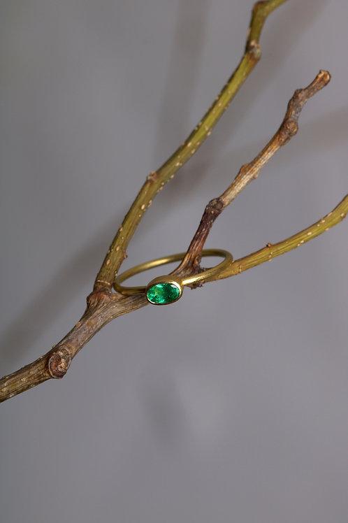Emerald Stacking Ring (05956)