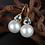 Thumbnail: South Sea Pearl Earrings (04509)