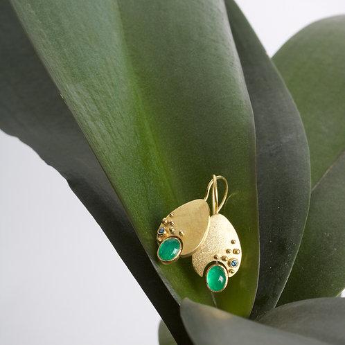 Emerald Earrings (06053)