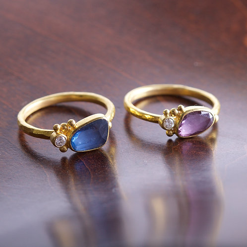 Blue Sapphire Ring (05854)
