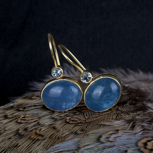 Aquamarine Earrings (04356)
