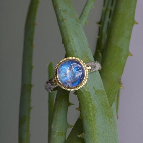 Moonstone Moonface Ring (06033)