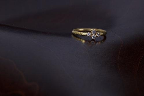 4 Diamond Engagement Ring (04798)