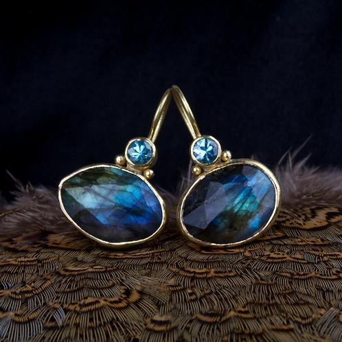 Labradorite Earrings (04476)