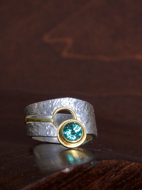 Green Tourmaline Ring (06905)