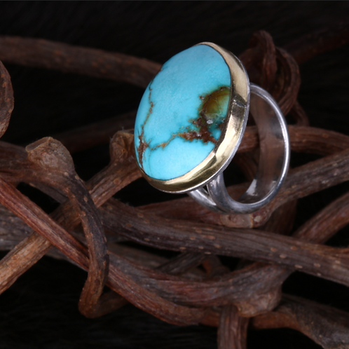 Turquoise Ring (04345)