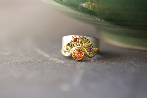Spessartite Garnet Ring (06719)