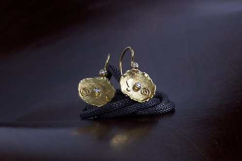 Gold Designed Earrings (04960)