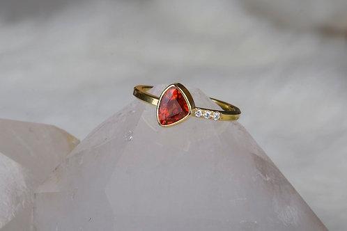 Spessartite Garnet Ring (02198)