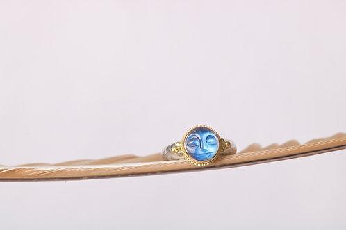MoonstoneMoonface Ring (06814)