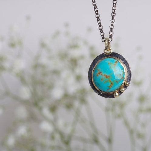 Turquoise Pendant (06496)