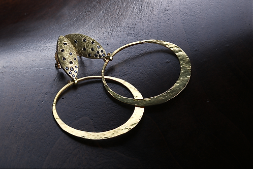 Black Diamond Earrings (04600)