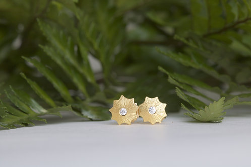 Star Stud Earrings (06542)