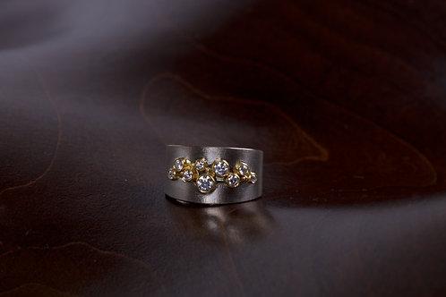 White Gold Diamond Band (04970)