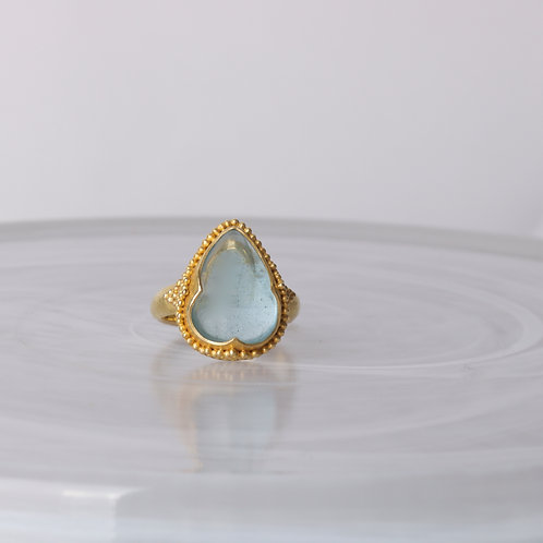 Teardrop Moonstone Ring by Steve Battelle (SB124)