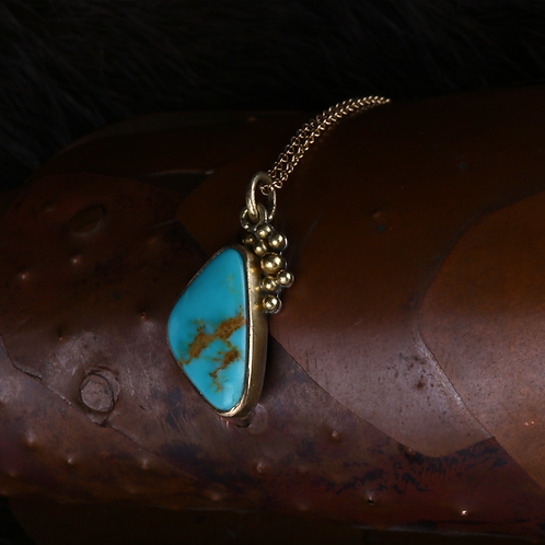 Turquoise Pendant (04546)