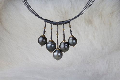 Tahitian Pearl Necklace (02747)