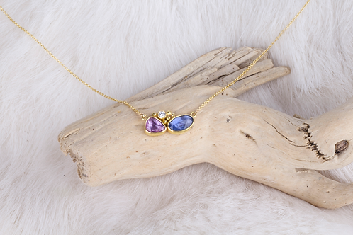 Sapphire Necklace (02754)
