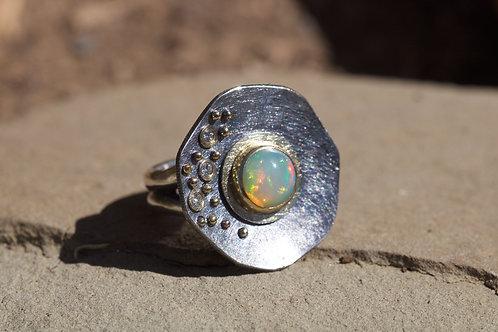 Ethiopian Mixed Metal Ring (04515)