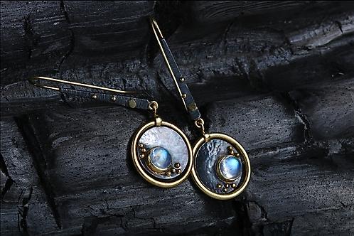Moonstone Earrings (04589)