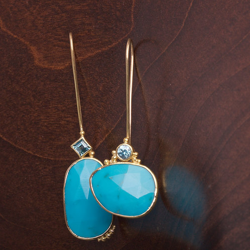Turquoise Earrings (05846)