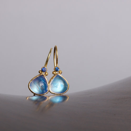 Moonstone Drop Earrings (05307)