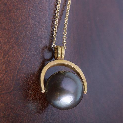 Tahitian Pearl Pendant (05836)