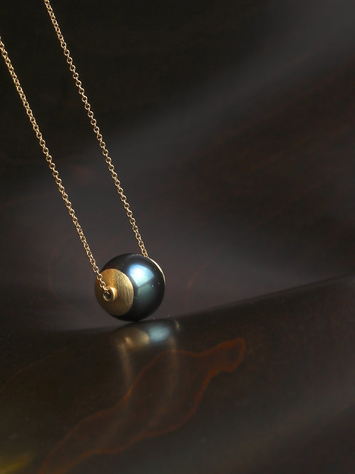 Tahitian Pearl Necklace (06817)