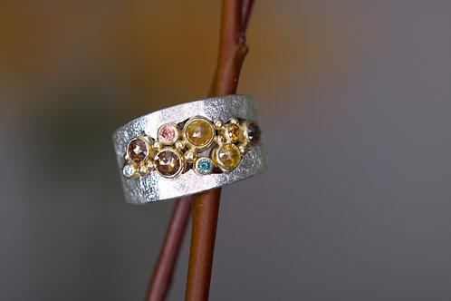 Rough Cut Diamond Ring (06070)