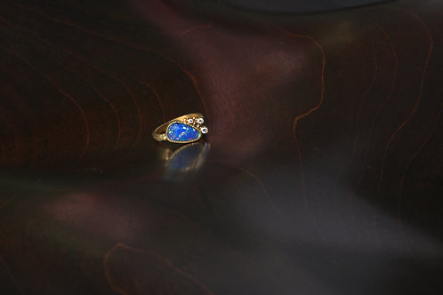 Opal and Diamond Ring (06944)