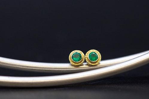 Emerald Studs (06697)