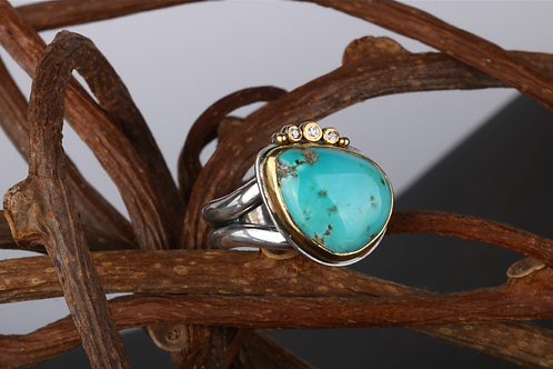 Turquoise Ring (04511)