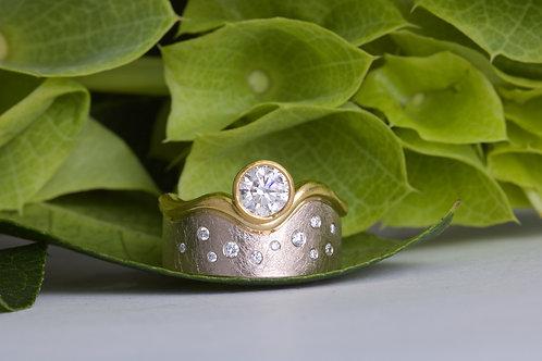 Diamond Engagement Band (06595)