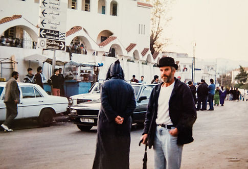 Englishman in Chechaouen, Morocco