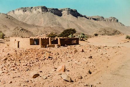 Cafe in Sahara